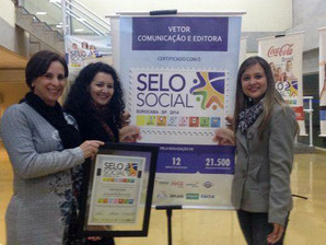 Projeto NA MOCHILA conquista Selo Social