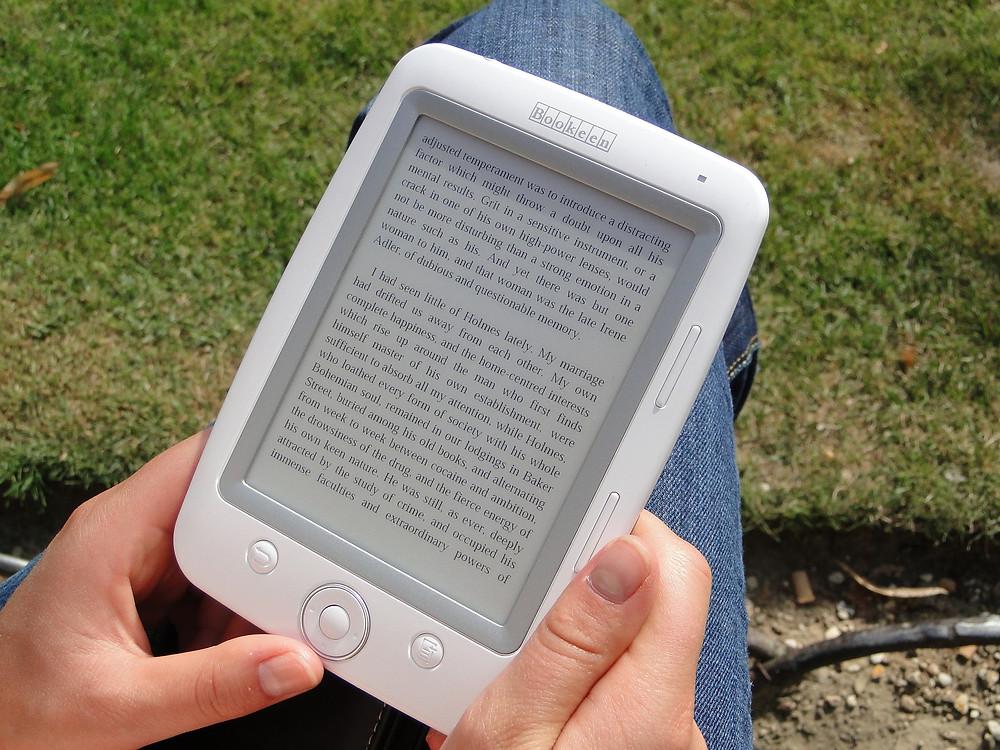 desvantagens do e-book
