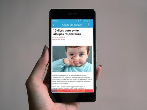 Aplicativo gratuito auxilia pais nos cuidados com a saúde e o desenvolvimento da criança
