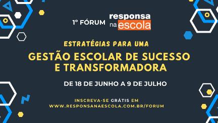 Instituto Noa promove fórum online para ajudar escolas a saírem da crise