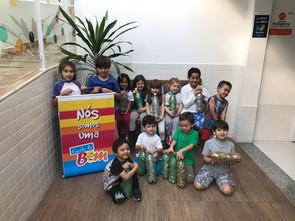 Escolas de Sorocaba pedem ajuda da população na Campanha do Lacre Solidário