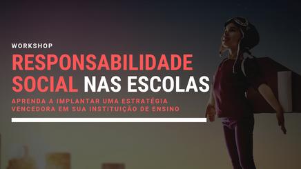 Instituto Noa promove série de workshops gratuitos sobre responsabilidade social nas escolas