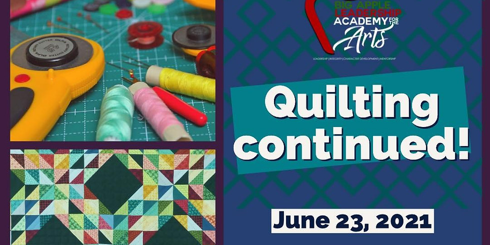 Quilting Continued