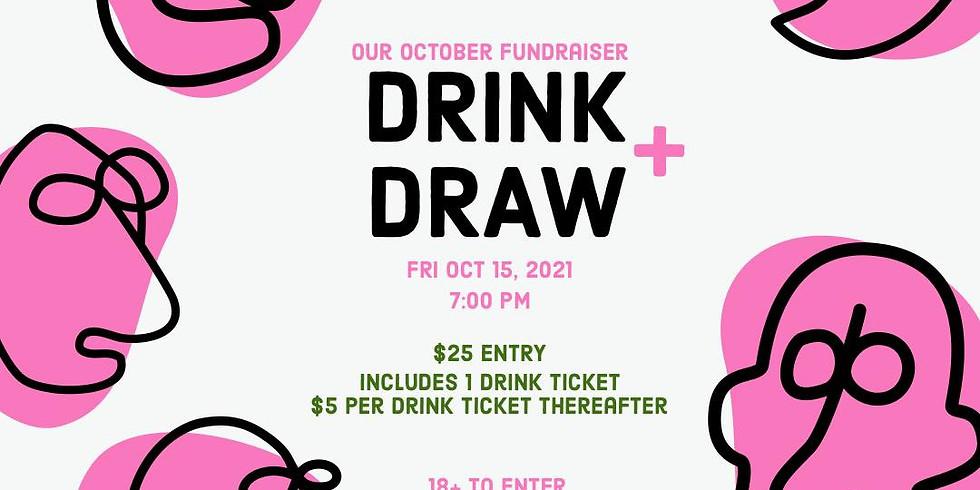 Drink & Draw Fundraiser