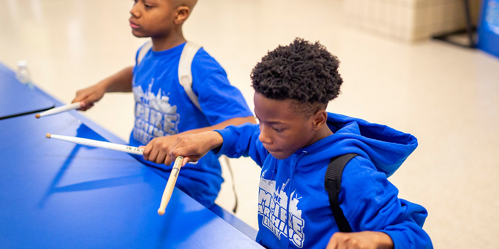 Free Percussion Workshops