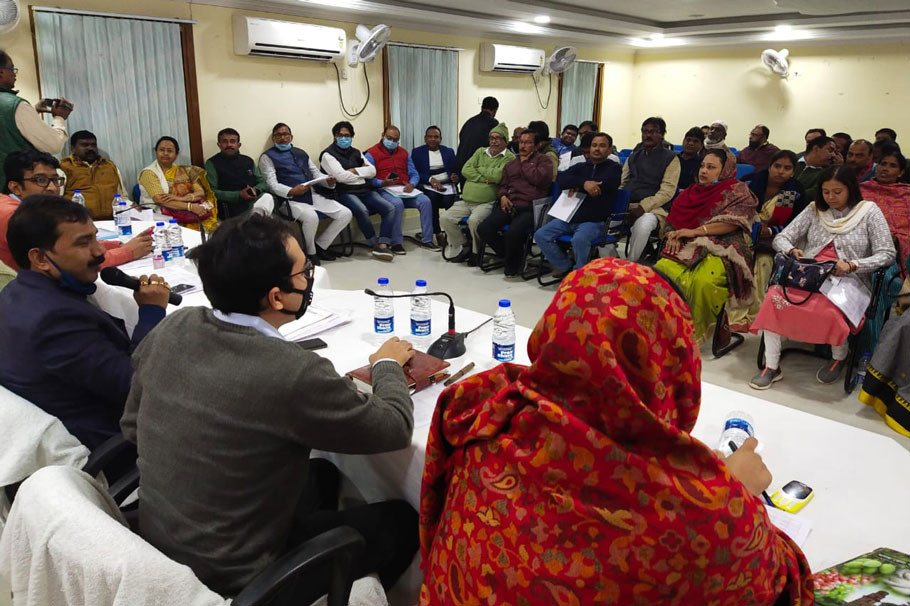 Malda Zilla Parishad presented budget focusing on road