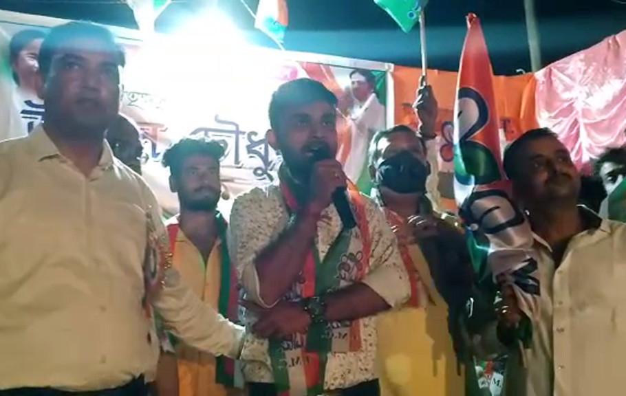 50 members of BJP Yuba Morcha joined Trinamool