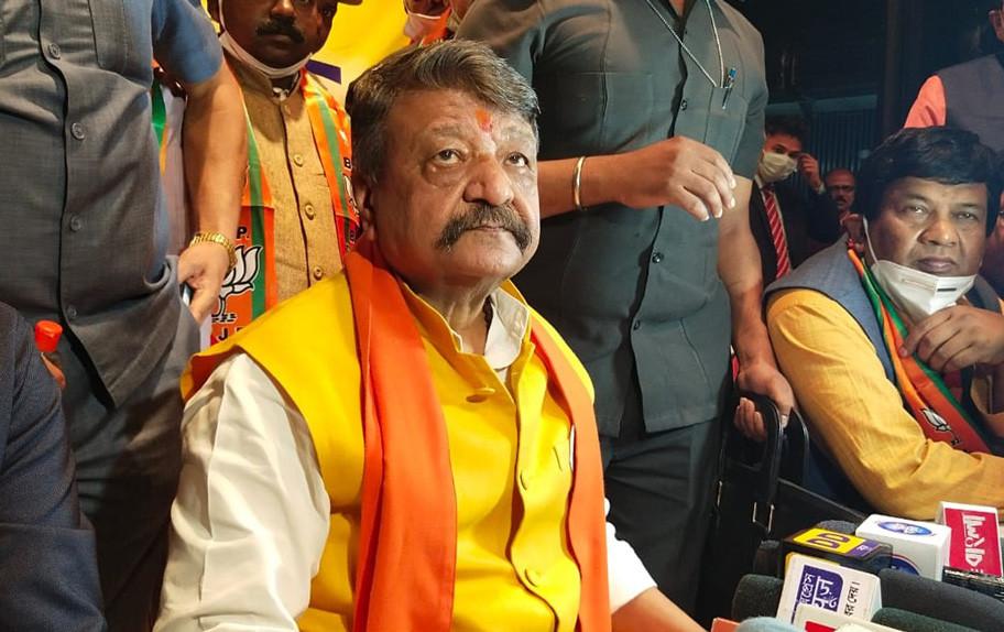 Kailash Vijayvargiya blames tmc in Malda
