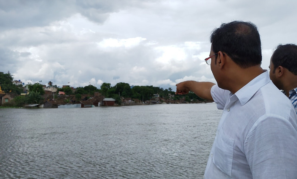 Flood in English Bazar Area