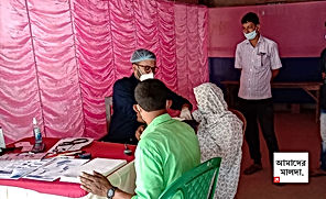মোটা টাকার লোভ ছেড়ে বিনামূল্যে চিকিৎসা করে 'হিরো'