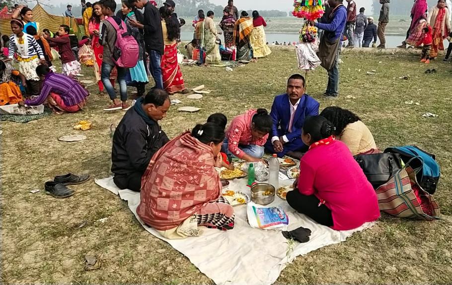 Makar Sankranti Fair in Chanchal