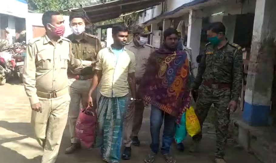 Bomb making material seized in malda