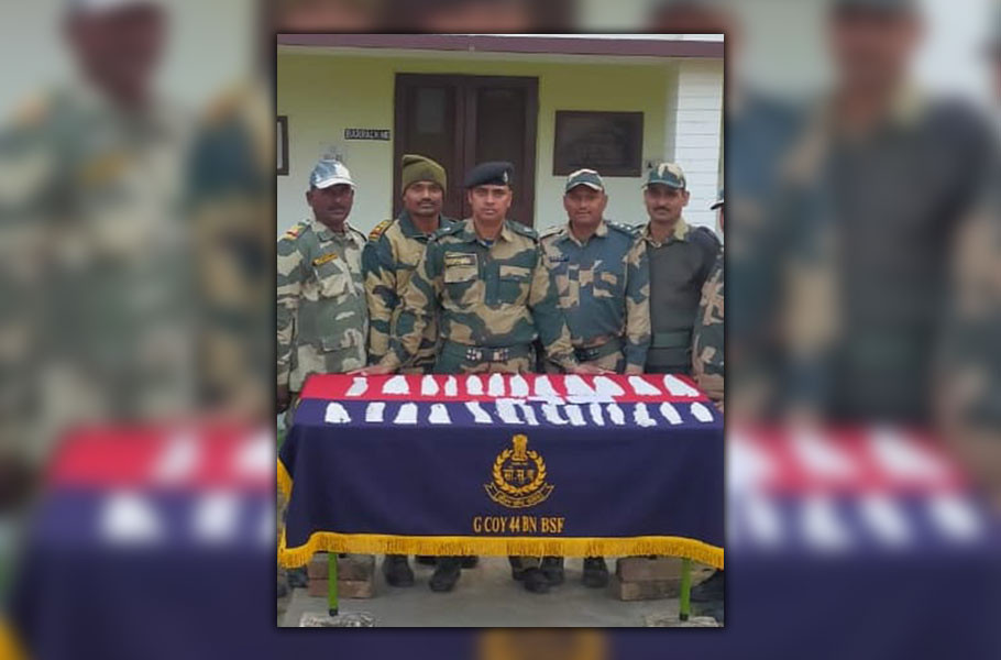 Before the Republic Day BSF stopped smuggling silver