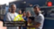 বিশ্বকাপ জিতে দেশে ফিরলেন উইকেটকিপার-ব্যাটসম্যান তুষার