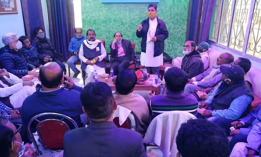 Javed Khan Congress Observer came to Malda