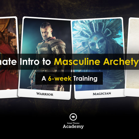 EMG Special Offer: Ultimate Intro To Masculine Archetypes