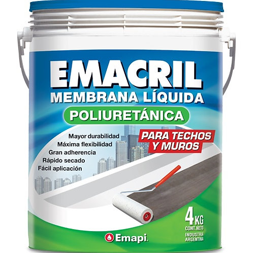 Emacril poliuretánica x 20 kg blanco