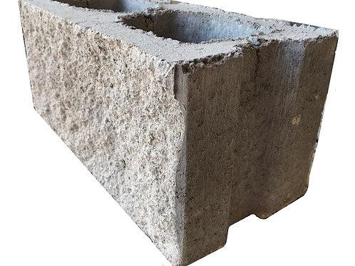 Bloque de cemento Split 19 x 19 x 39