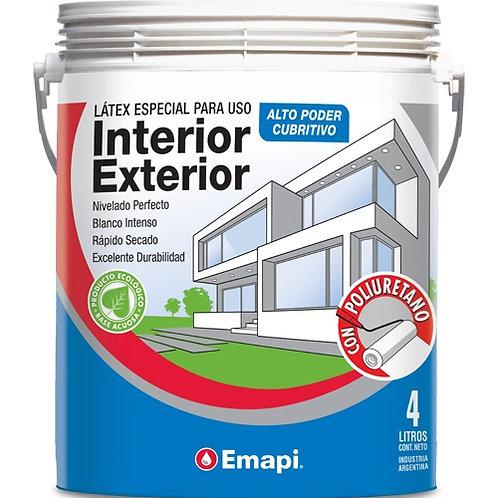 Latex int/ext con poliuretano x 10 lts