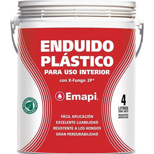 Enduido plástico interior x 4 lts