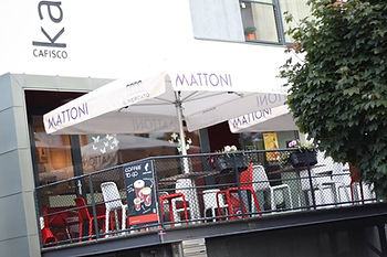 pohled na kavárnu Cafisco