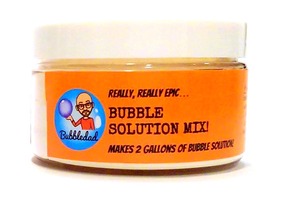 Really Epic Bubble Solution Mix  4oz