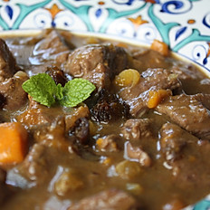 Lamb Stew w/ Dried Fruits