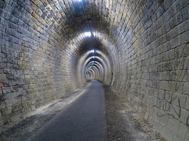 Cycling Tunnel in France