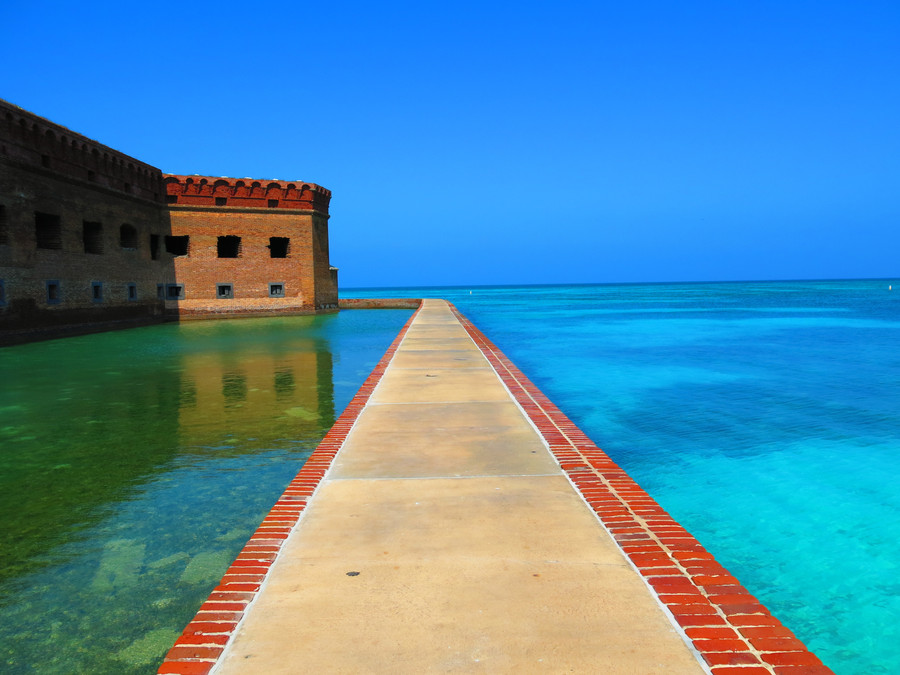 Fort Jefferson @ Dry Tortugas National Park