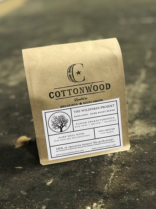 The Wildfires Projekt Dark Roast Coffee