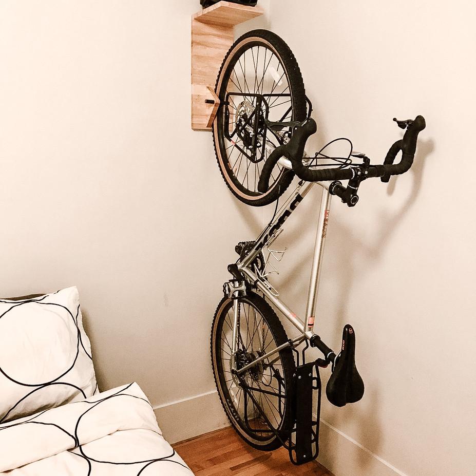 Support à vélo