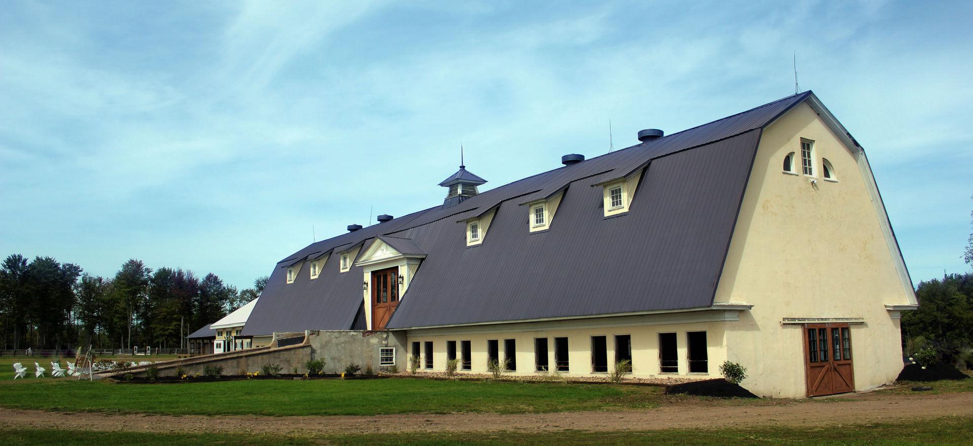 Barn Side View