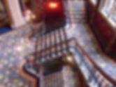 Stair rods installation