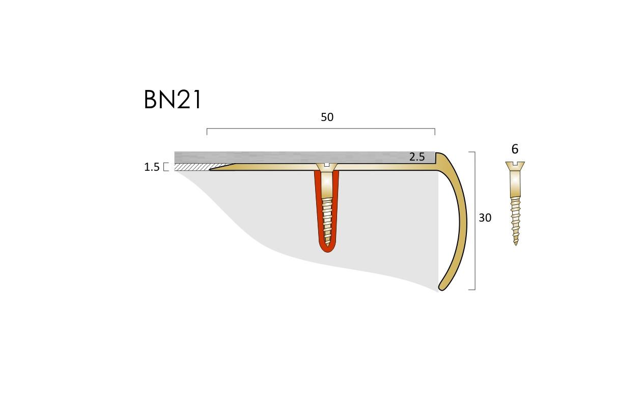BN21 LVT Nosing