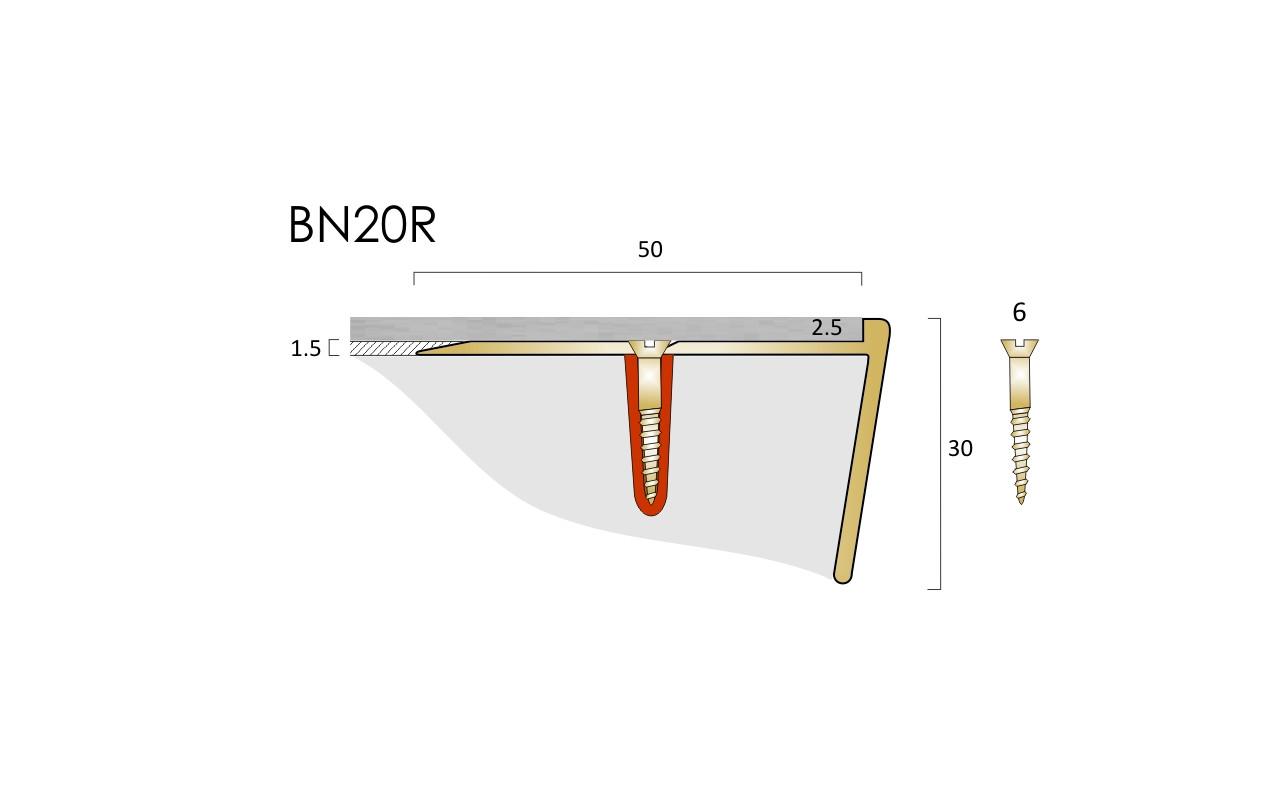 BN20R LVT Nosing