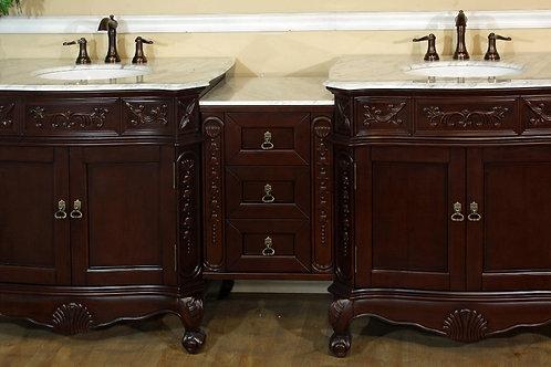 Bathroom Vanity - 202016A-D-WH