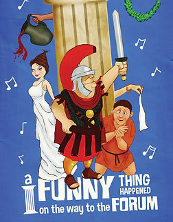 """A Funny Thing Happened On The Way To The Forum"" at Geva Theatre Center"