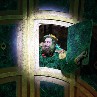The Emerald City Gatekeeper in The Wizard Of Oz