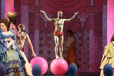 "Joshua Dean in ""The Ghosts Of Versailles"" at LA Opera"