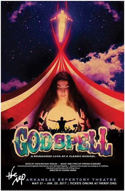 """""""Godspell"""" at Arkansas Repertory Theatre"""