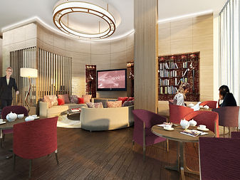 Hotel Lounge design