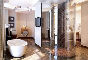 Presidential bathroom design
