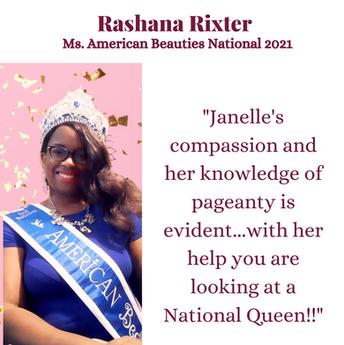 Rashana Rixter - Plus Pageants Network