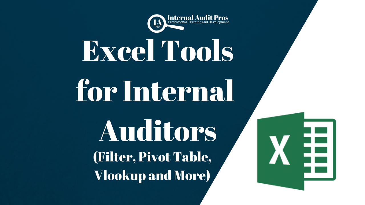 Excel Tools for Internal Auditors