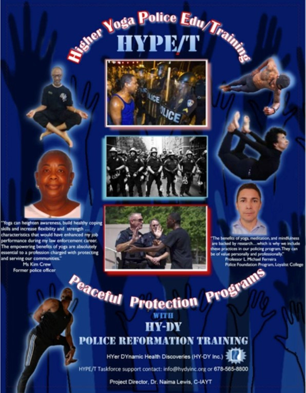 Yogic Principles of MLK: Foundations for the HYPE/T PROJECT(Higher Yoga Police Edu/Training )