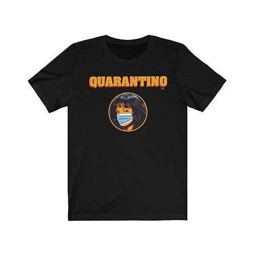 QUARANTINO - I SURVIVED CORONA Unisex Short SleveE