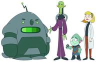 characters_lineup_by_dwaynebiddixart_dcr