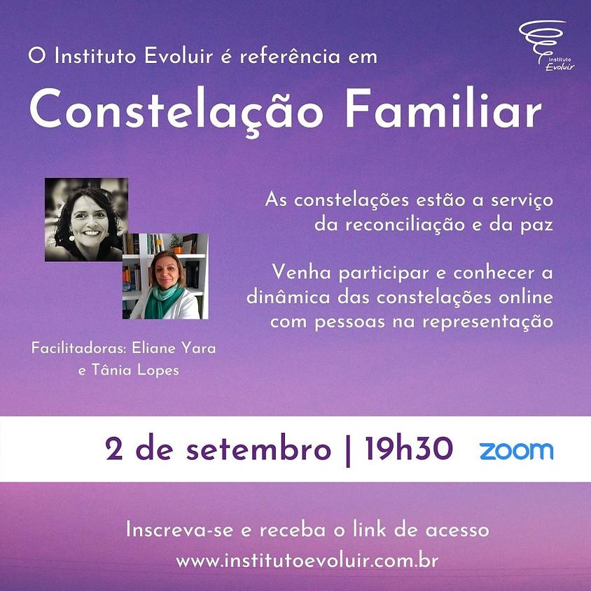 Constelação Familiar Online - 2 de setembro - 19h30