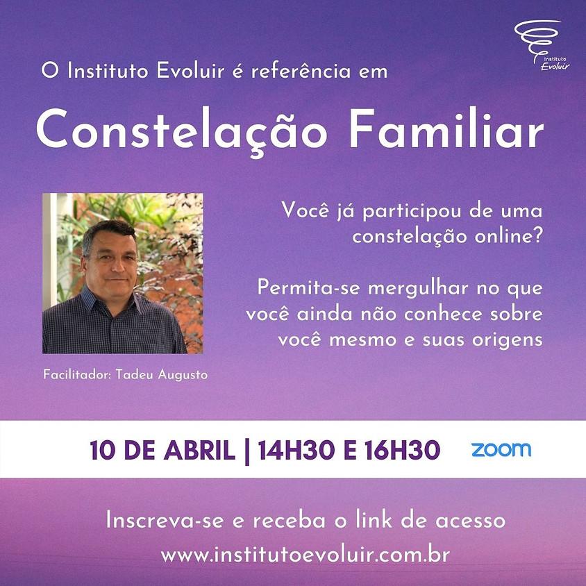 Constelação Familiar Online - 10 de abril - 14h30 e 16h30
