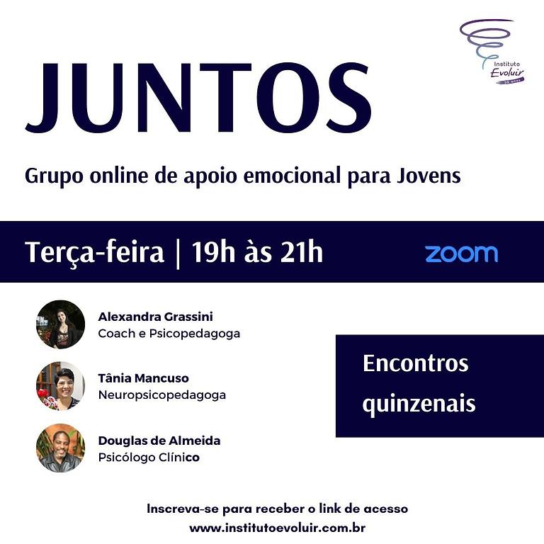 Juntos | Grupo online de apoio emocional para jovens | Terça 19h